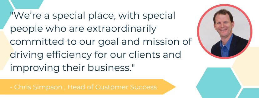Chris Simpson Direct Commerce Customer Service Quote
