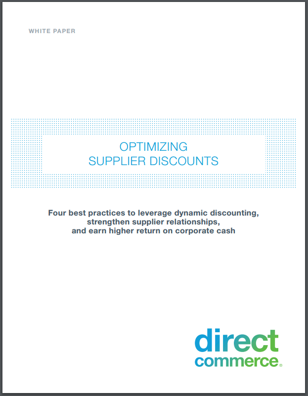 Optimizing Supplier Discounts