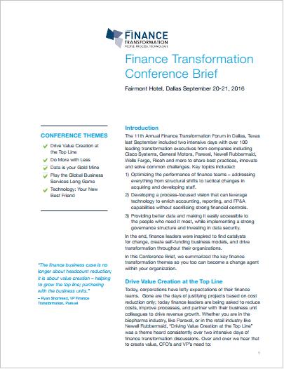 Finance-Transformation-Brief-102116